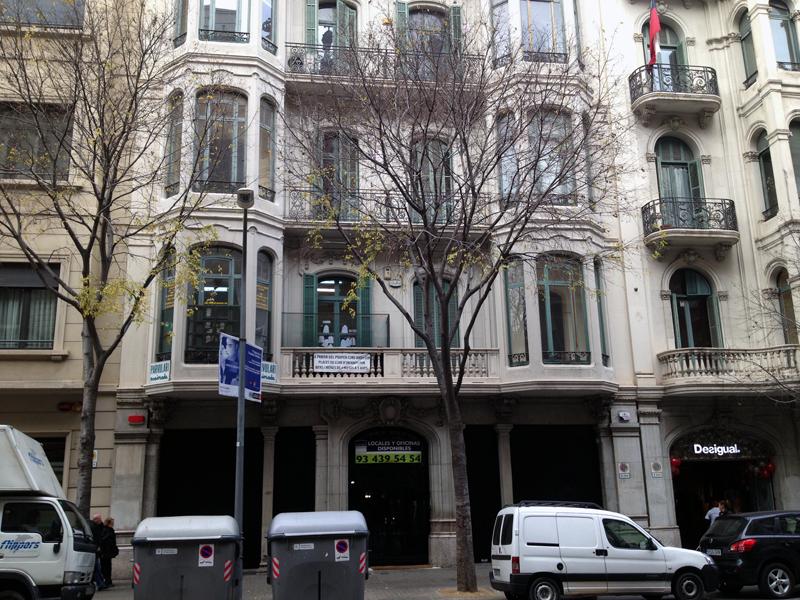 Calle casp 33a barcelona agp - Calle casp barcelona ...